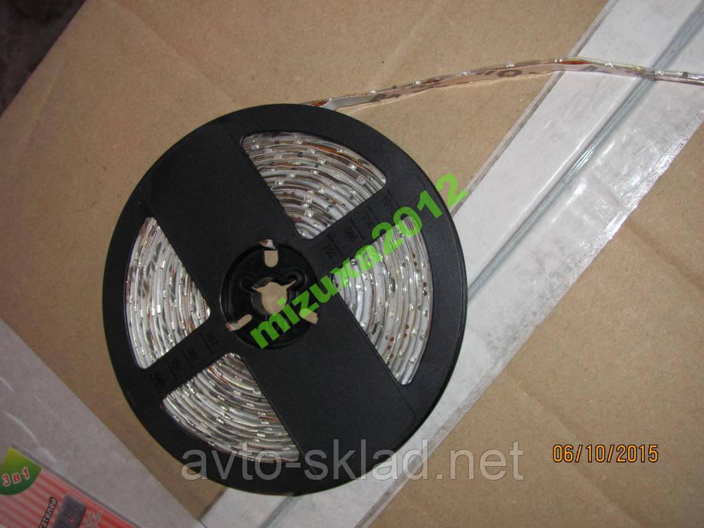 Світлодіодна стрічка (колір білий) 5 метрів 12V