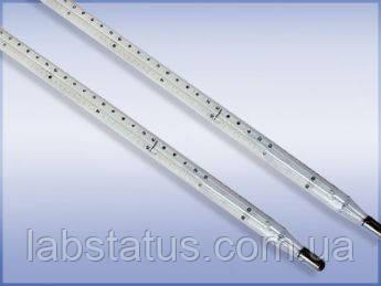 Термометр лабораторный ТЛС-4 (+150...+205°С) L-530мм