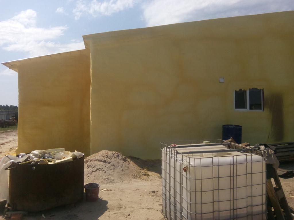 август 2016г. утепление фасада склада с покраской 9