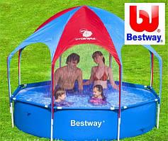 Детский каркасный бассейн с навесом  Bestway 56193