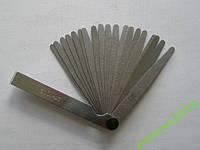 Щуп веерный для измерения зазоров 0.05-1.0мм, 20шт
