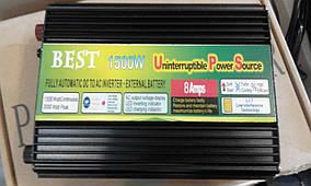 Преобразователь напряжения, инвертор + зарядное устройство 1500W inverter with charger 12 V/220