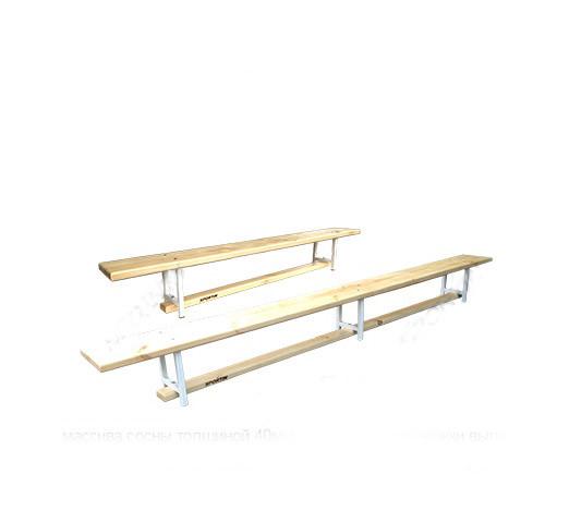 Скамья гимнастическая универсальная L=3м. GM0002