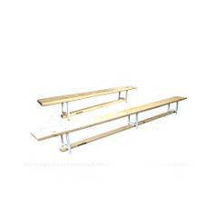 Скамья гимнастическая универсальная L=2м. GM0001