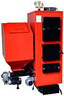 Пелетний котел твердопаливний Altep КТ-2E-SH 62 кВт