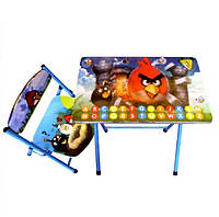 Детский стол-парта DT 19-5 складная со стульчиком Angry birds