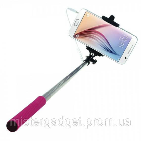 Монопод Selfie Stick Z07-5S. Палка для селфи Кнопка громкости