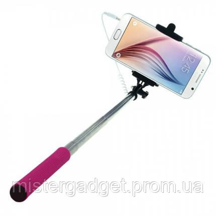 Монопод Selfie Stick Z07-5S. Палка для селфи Кнопка громкости, фото 2