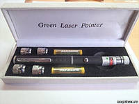 Лазерная указка с LED насадкой (портативная цветомузыка),Одесса(24220)