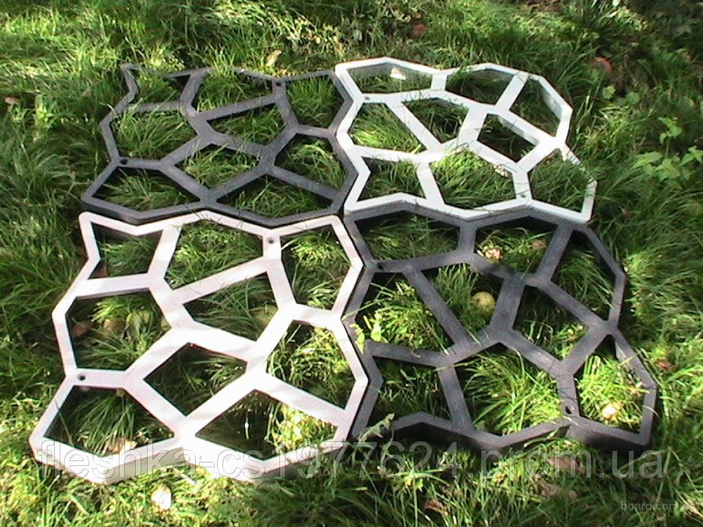 Форма для садовых дорожек 60х60х6см пластик