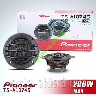 Динаміки колонки акустика Pioneer d 10 см TS1074S