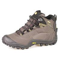 Зимние мужские ботинки Merrell Chameleon Thermo D806 коричневые