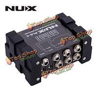 NUX PLS-4 четыре канала линии Видеомикшер истинно-обводной про-аудио