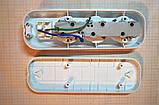 Колодка мережева 220В на три розетки з вимикачем і заземленням, фото 3