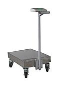 Весы-тележка TB1-150-20-R(400x550)-S-12epa