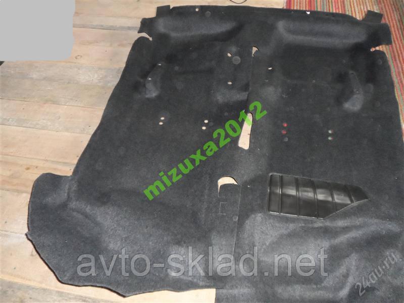 Ковёр салона Ваз 2108 2109 21099 ворс ковер пола завод