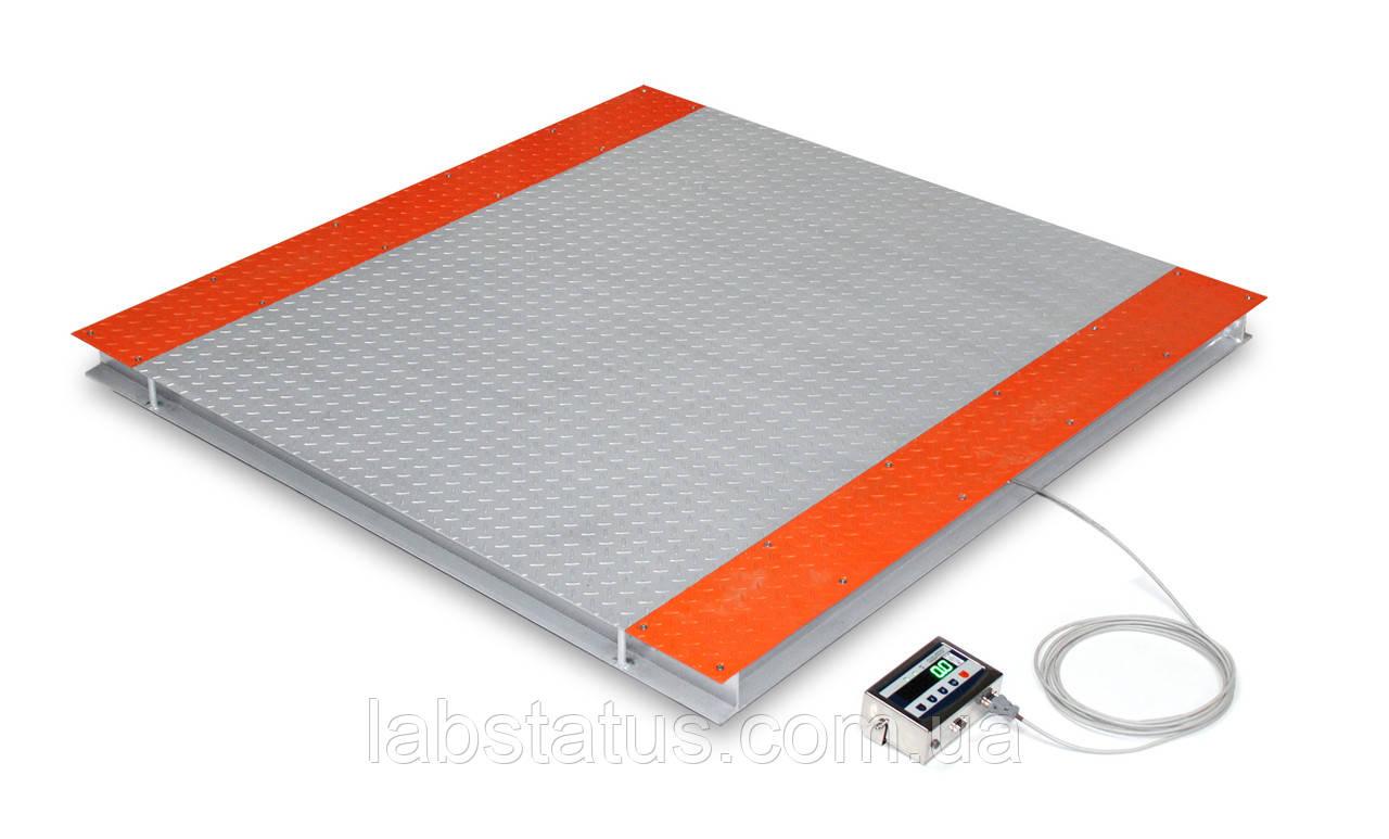 Весы платформенные TB4-2000-0,5-(1250x1250)-S-12e