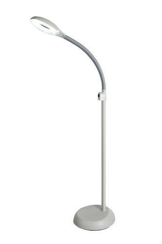 Профессиональная лампа-лупа на штативе с подсветкой 5 диоптрий