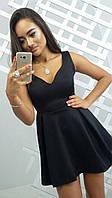Женское прекрасное платье с юбкой-солнце (2 цвета), фото 1