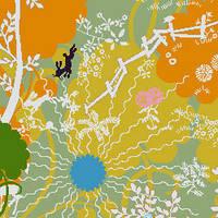 Дизайнерский ковролин шерсть для гостиниц, для ресторанов, для дома  Halbmond Step by step2