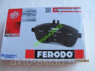 Колодки перед гальмівна ВАЗ 2101-2107 FERODO
