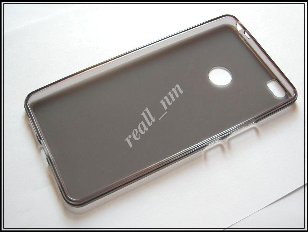 Серый силиконовый чехол накладка-бампер для Xiaomi Mi Max