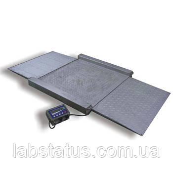 Весы наездные ТВ4-2000-0,5-Н(1500х1500)-N-12eh (н/ж)
