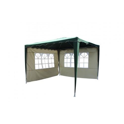 Водонепроницаемый павильон (шатер)EVERYDAY :крыша +2 стенки с окнами. зеленый