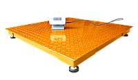 Весы платформенные ЗЕВС ВПЕ-500-4-0,1-(1200х1200)-h, Эконом