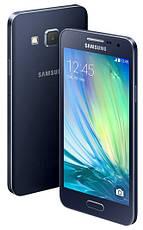 Смартфон Samsung Galaxy A3 16GB A300 Black, фото 2