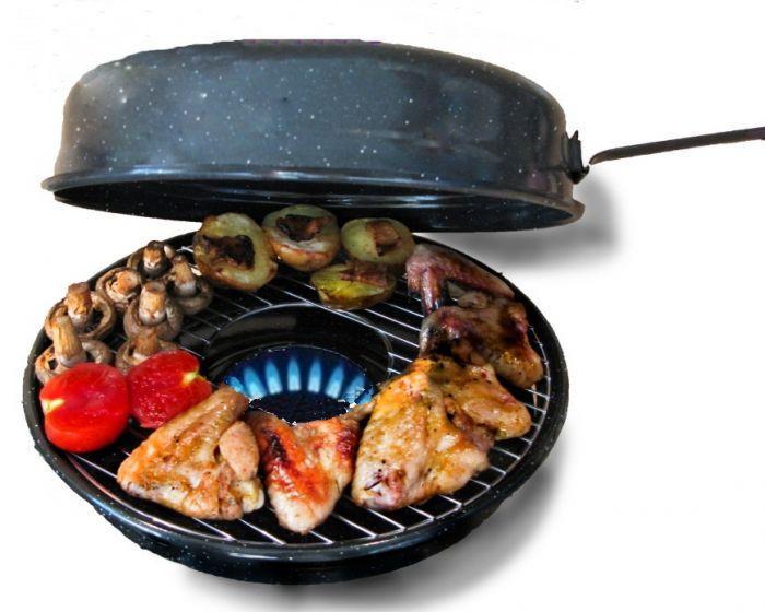 Чудо сковорода Гриль-Газ, барбекю на плите