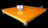 Весы платформенные ЗЕВС ВПЕ-1000-4-0,5-(1500х1500)-h, Эконом