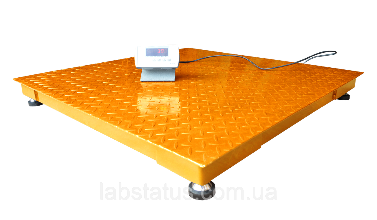 Весы платформенные ЗЕВС ВПЕ-2000-4-0,5-(1200х1200)-h, Эконом