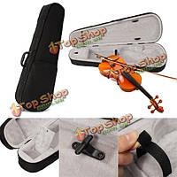 Черная ткань пуха скрипка сумка 4/4 треугольник для полного размера скрипки, акустика