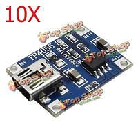 10X tp4056 1a Lipo зарядки аккумулятора плата модуля зарядного устройства Интерфейс Mini-USB