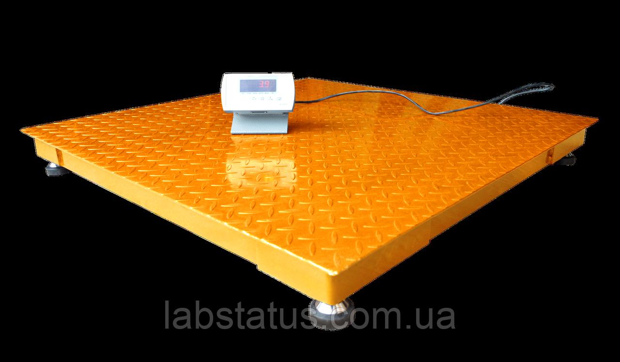 Весы платформенные ЗЕВС ВПЕ-3000-4-1-(1500х1500)-h, Эконом