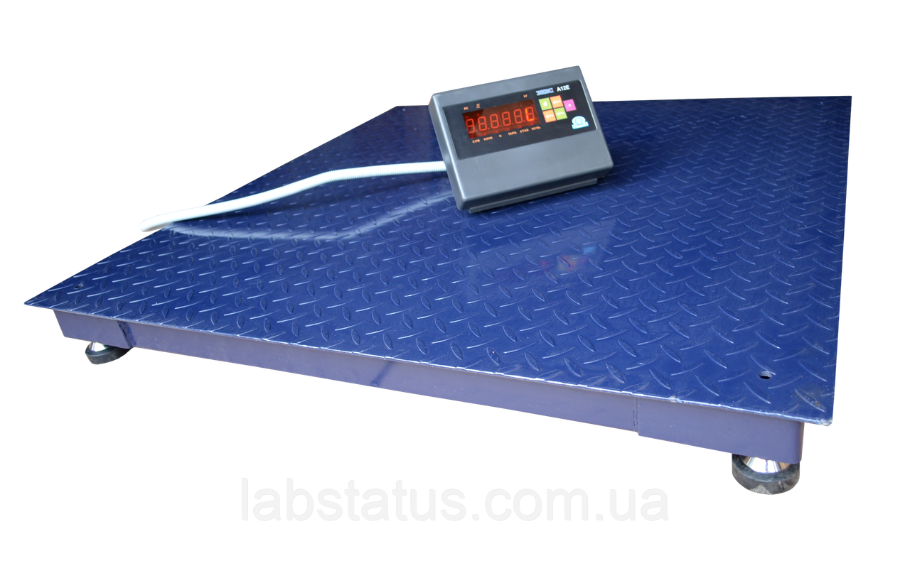 Весы платформенные ЗЕВС ВПЕ-500-4-0,1-(1200х1200)-h, Стандарт