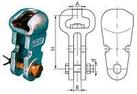 Ушко двухлапчатое укороченное У2К-7-16