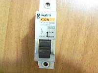 Автомат автоматический выключатель 1пол multi9 25А