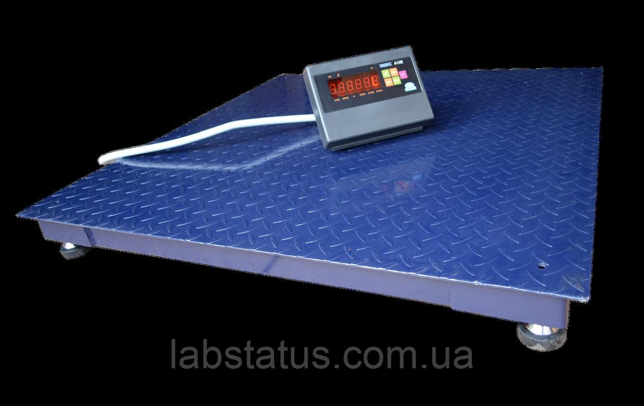 Весы платформенные ЗЕВС ВПЕ-5000-4-1-(1200х1200)-h, Стандарт