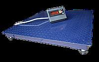 Весы платформенные ЗЕВС ВПЕ-5000-4-1-(1200х1500)-h, Стандарт