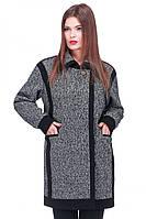 Модное женское шерстяное пальто арт. Мари