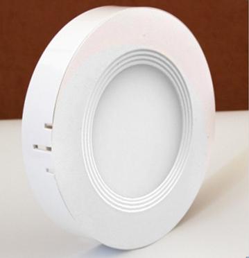 Светильник  светодиодный 2в1 12W (4000 К) накладной круглый Wall Light Plastic с каемкой