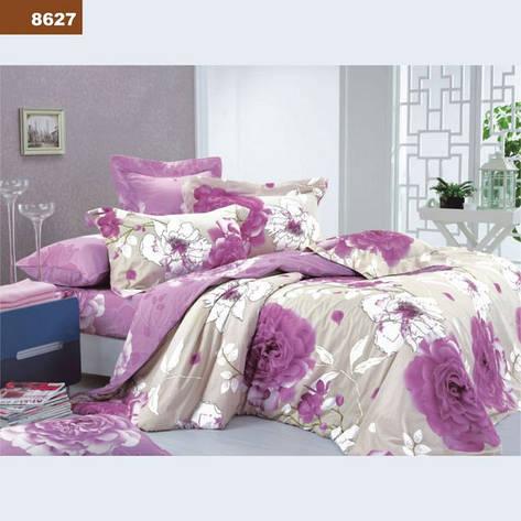 8627 Полуторное постельное белье ранфорс Viluta, фото 2