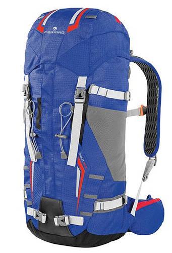 Качественный рюкзак для профессионального альпинизма Ferrino Triolet 32+5 Blue 922865 синий