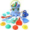 14шт весело мило игра инструменты формы игрушка морское существо песок вода пляж крытый открытый игрушка