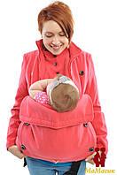 Полупальто кашемировое 3в1: беременность, слингоношение, обычное пальто (демисезонное), фото 1