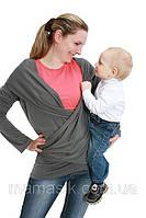 Кофта 3в1: беременность, слингоношение, обычная кофта, фото 1