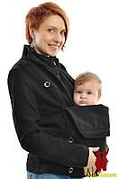 Слингопальто кашемировое 3в1: беременность, слингоношение, обычное пальто (демисезонное), фото 1