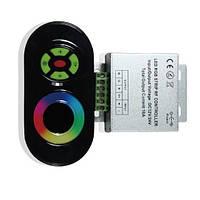 Контроллер RF RGB 18А  Black (Touch)